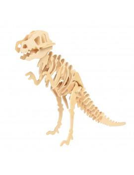 Dino houten 3D puzzel tyrannosaurus