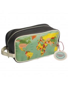 Toilettas wereldkaart