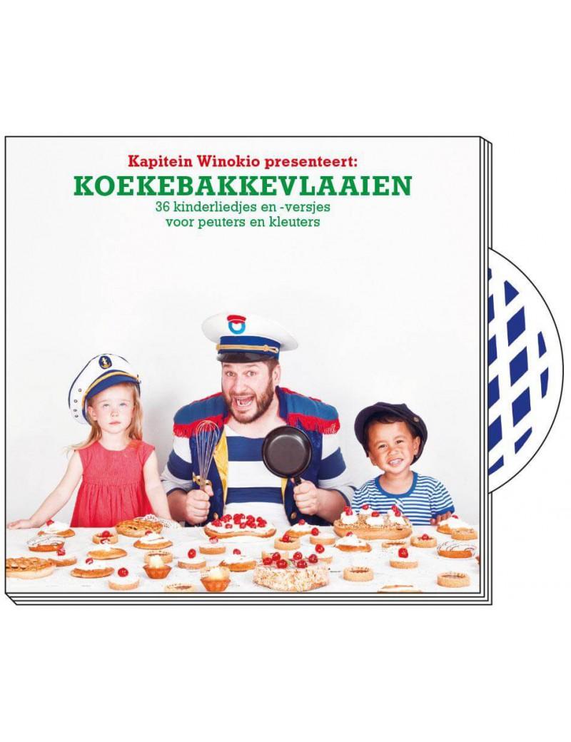 Koekebakkevlaaien boek + cd - Kapitein Winokio