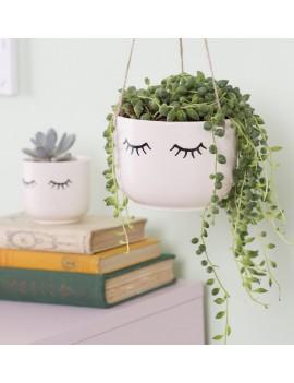 Hangende bloempot gesloten ogen - Sass & Belle