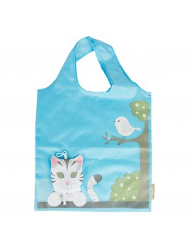 opvouwbare shopping bag 'Cat'