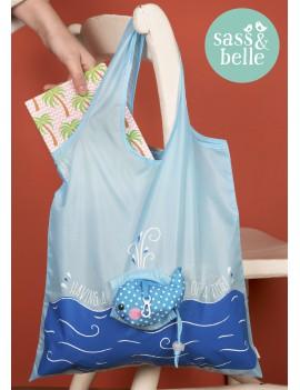 opvouwbare shopping bag 'Walvis'