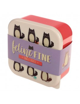 Snackdoosjes katten (set van 3)