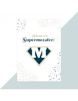 Meester kaartje supermeester