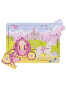 Houten puzzel prinses - BigJigs