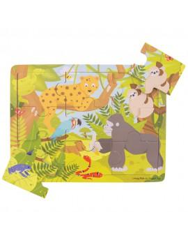 Houten puzzel jungle - BigJigs