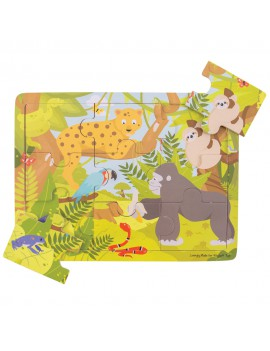 Houten puzzel jungle - BigJigs
