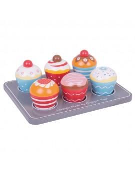 Cupcake speelset - BigJigs
