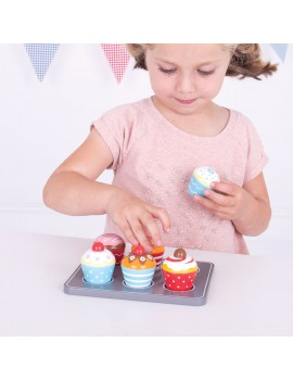 Cupcake speelset - BigJigs