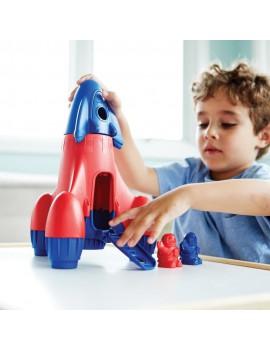 Speelgoed raket blauw - Green Toys
