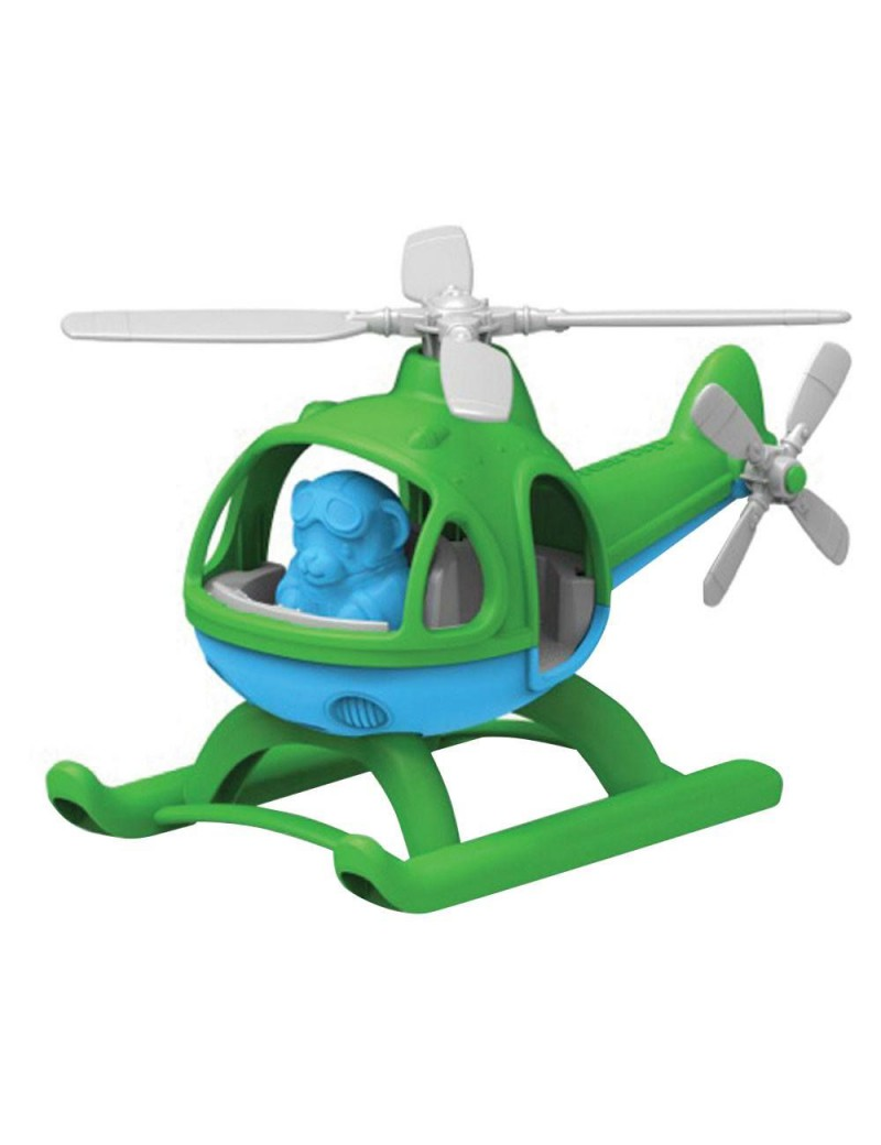 Speelgoed helicopter groen - Green Toys