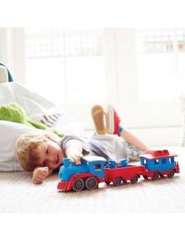 Speelgoed trein blauw - Green Toys