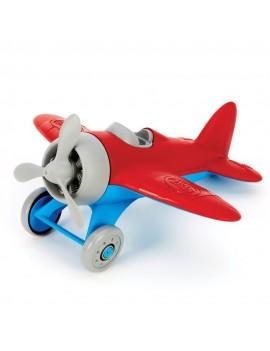 Speelgoed vliegtuig rood -...