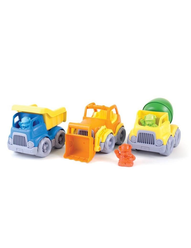 Set speelgoed bouwvoertuigen - Green Toys