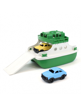 Speelgoed ferry groen wit - Green Toys