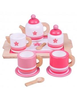 Speelgoed thee setje roze - BigJigs