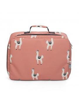 Reiskoffer lama roze - Onnolulu