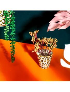 Bloempotje luipaard print - Sass & Belle