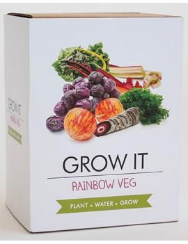 Kweek je eigen regenboog groenten