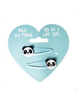 Panda haarspeldjes