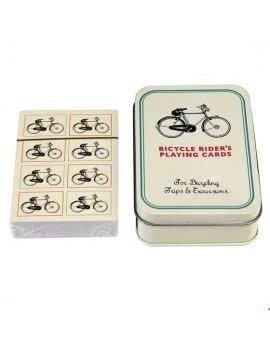 Speelkaarten wielrennen koers