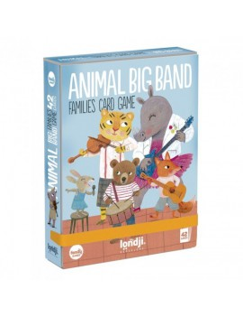 Animal big band kaartspel 3+ jaar - Londji