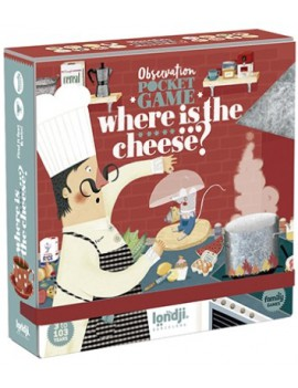 Gezelschapsspel where is the cheese 3+ jaar - Londji