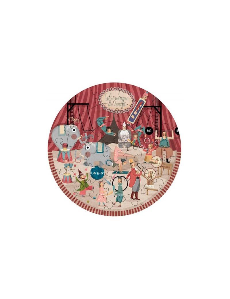 Kinderpuzzel rond circus 3+ jaar - Londji