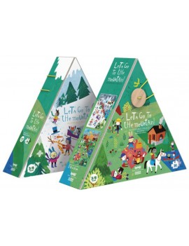 Puzzel let's go to the mountain 3+ jaar - Londji