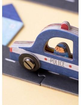 Roads puzzel 6+ jaar - Londji