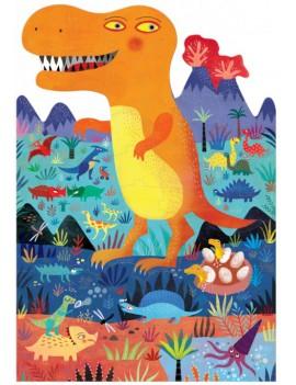 Dino puzzel T-rex 3+ jaar - Londji