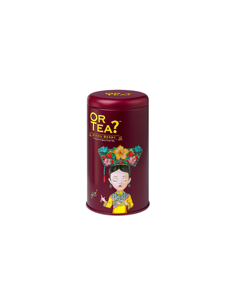 Queen Berry tin canister - Or Tea?