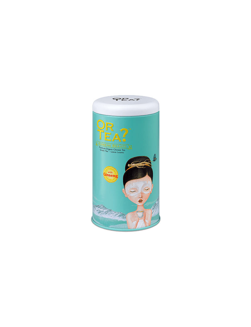 Ginseng Beauty tin canister - Or Tea?
