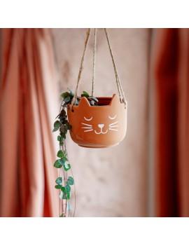 Hangende bloempot kat - Sass & Belle