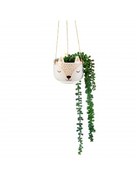 Hangende bloempot vos - Sass & Belle