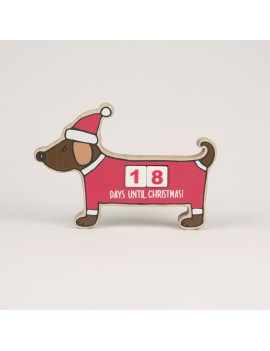 Kerst aftelkalender dachshund - Sass & Belle