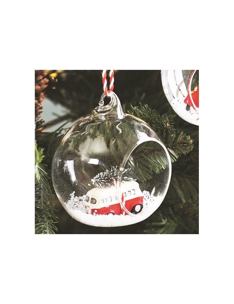 Kerst auto kerstbal - Sass & Belle