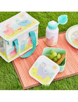 Brooddoos lunchbox lama alpaca - Sass & Belle