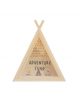 Adventure spaarpot tipi - Sass & Belle
