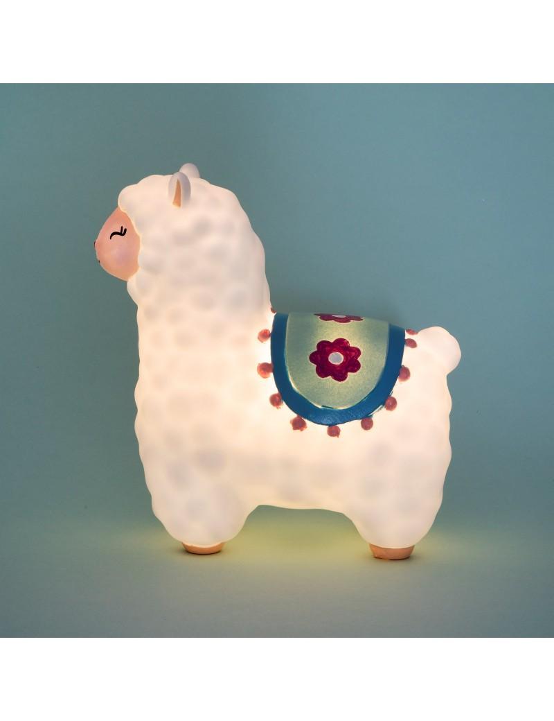 Nachtlampje lama alpaca - Sass & Belle