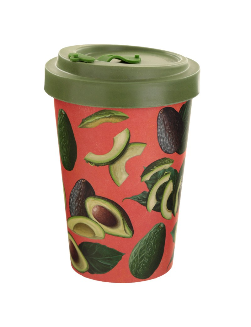 Bamboe drinkbeker avocado