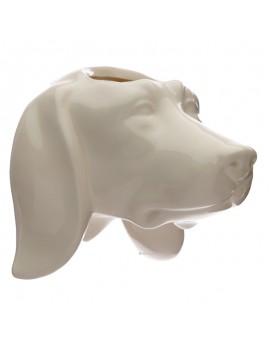 Hond bloempot
