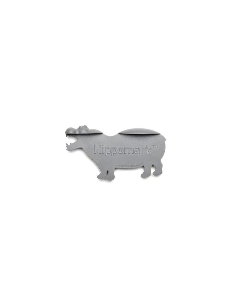 Nijlpaard bladwijzer hippomark - Peleg Design