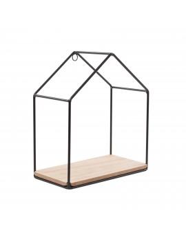 Legplank huisje metaal hout - Sass & Belle