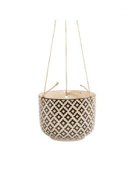 Hangende bloempot geometrisch - Sass & Belle