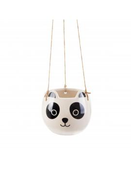 Hangende bloempot panda - Sass & Belle