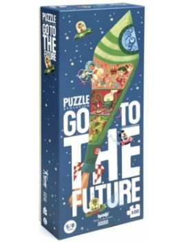 Go to the future puzzel 5+ jaar - Londji
