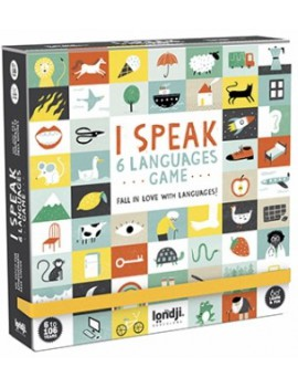I speak 6 languages taalspel 6+ jaar - Londji