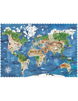 Pocket puzzel discover the world 6+ jaar - Londji