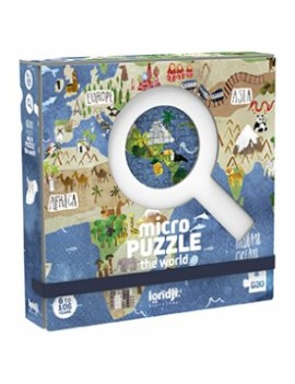 Micro puzzel discover the world 6+ jaar - Londji